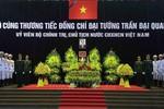 Những hình ảnh tại Lễ viếng Chủ tịch nước Trần Đại Quang