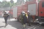 Thông tin về vụ cháy ở tòa nhà Viện Dầu khí