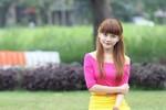 Nữ sinh Kiên Giang xinh đẹp biến hóa trong hàng loạt clip