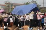 """Chủ tịch tỉnh Vĩnh Phúc: """"Tôi hỏi nó, nó nói không liên quan gì!"""""""