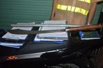141 tạm giữ lái xe taxi mang thanh đao ở cốp xe