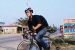 Đạp xe hơn 600km từ Hà Nội vào Quảng Bình viếng Đại tướng