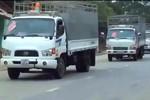 Video: Đám cưới đón dâu bằng 16 chiếc xe tải tại Hà Giang