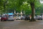 Trường THPT Phan Đình Phùng Hà Nội: Sân trường biến thành bãi gửi xe