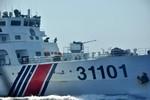 Tàu Trung Quốc liên tục uy hiếp, chĩa súng vào tàu Việt Nam
