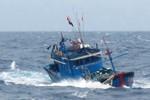 Vùng biển quần đảo Hoàng Sa, Trường Sa sắp có dông mạnh, biển động