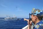Trung Quốc giảm dần tàu cá, tăng tàu quân sự để bảo vệ giàn khoan