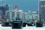 Tàu cá Trung Quốc bỏ giàn khoan, quay về đảo Hải Nam