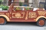 'Siêu xe' bằng gỗ tự chế đầu tiên tại Việt Nam giá hơn nửa tỷ