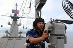 Tàu Lý Thái Tổ: Tuần tra, kết hợp huấn luyện SSCĐ