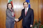 Bộ trưởng Trần Đại Quang đến Bulgari họp bàn hợp tác phòng chống tội phạm