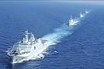 Hạm đội Nam Hải diễn tập biên đội để chuẩn bị cho xung đột biển Đông?