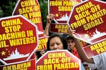 Hoàn Cầu: Philippines tập hợp biểu tình chống TQ trên toàn cầu