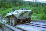 Nga nghiên cứu chế tạo xe bọc thép không tiếng ồn, không người lái