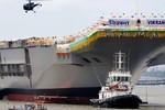 Báo TQ: Ấn Độ phát triển tàu sân bay để xâm nhập Thái Bình Dương