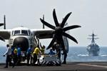 Bị cụm tàu sân bay Mỹ dọa khiến Quân đội Trung Quốc từng phải rút lui