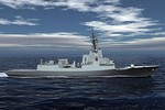 Tàu khu trục Aegis lớp Hobart Australia đã bước vào giai đoạn chế tạo