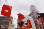 Khi đàn ông Đài Loan xuống đường ủng hộ quốc gia của vợ - Việt Nam