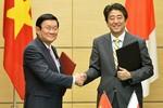 Việt Nam-Nhật Bản tích cực hợp tác vì hòa bình, ổn định ở Biển Đông