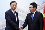 Trung Quốc: Hôm nay các lãnh đạo Việt Nam tiếp ông Dương Khiết Trì