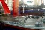 Báo Mỹ: Trung Quốc lộ mô hình tàu sân bay động cơ hạt nhân