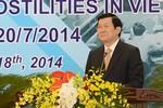 Báo TQ quan tâm đến bài phát biểu của Chủ tịch nước VN Trương Tấn Sang
