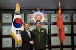 Trung-Hàn nhất trí lập đường dây nóng quân sự cấp Bộ trưởng QP