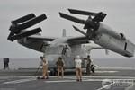 Nhật Bản tạm thời gác lại kế hoạch di chuyển máy bay Osprey của Mỹ