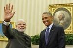 Mỹ-Ấn ra Tuyên bố chung: Không được sử dụng vũ lực ở Biển Đông