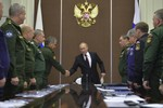 Nga tập trận quy mô lớn ở Kaliningrad, năm 2015 sẽ có 4.000 cuộc