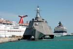Tàu tuần duyên LCS Hải quân Mỹ được đặt tên chính thức là tàu hộ vệ