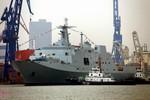Trung Quốc hạ thủy chiếc tàu đổ bộ cỡ lớn Type 071 thứ tư