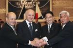 Nhật-Pháp: Cần tuân thủ luật pháp quốc tế, bảo đảm tự do đi lại ở Biển Đông