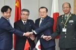 Trung-Nhật tái khởi động đối thoại an ninh sau 4 năm gián đoạn
