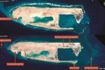 Hình ảnh vệ tinh: TQ xây dựng phi pháp đường băng quân sự ở đá Chữ Thập