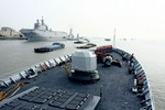 Pháp cho tàu Mistral tập trận chung, nhưng chưa bán cho Trung Quốc