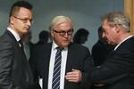 Ngoại trưởng các nước EU tìm gấp các giải pháp lâu dài cho xung đột Syria