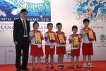 Việt Nam giành giải phụ Cuộc thi Robotics quốc tế 2012