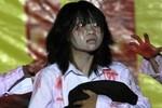 Clip hot: Sinh viên nhảy Gangnam Style đón Halloween kinh dị