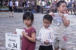 Hà Nội: Hàng nghìn trẻ mẫu giáo dự tuyển vào lớp 1