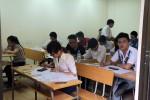 Môn Toán sáng nay có 32 thí sinh bị đình chỉ thi