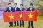 """Trường THPT chuyên KHTN """"bội thu"""" HC Olympic Hóa quốc tế"""