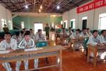 Lớp học đặc biệt trong trại giam