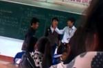 Clip học sinh đánh lại thầy vì bị tát thô bạo, liên tục ở Bình Định