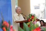 Về thăm trường cũ, TBT Nguyễn Phú Trọng kể chuyện ngày xưa đi học