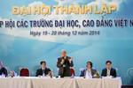 Chính thức phê duyệt Điều lệ Hiệp hội các trường đại học, cao đẳng Việt Nam