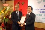 Ông Furuta Motoo được bổ nhiệm làm hiệu trưởng Đại học Việt Nhật
