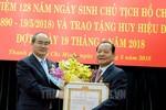 Ông Lê Thanh Hải được trao Huy hiệu 50 năm tuổi Đảng