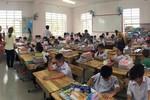 Trường Võ Thị Sáu cho học sinh lớp 1 lên tầng cao vì chưa có đóng góp