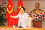 """Phó Thủ tướng Vương Đình Huệ: """"Không thể chấp nhận được tiến độ này"""""""